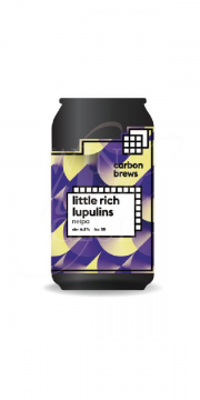 Carbon Brews, Little Rich Lupulins NEIPA 330ml