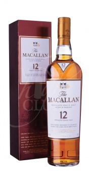 Macallan, 12yrs Sherry Oak 70cl